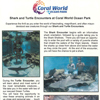 Coral World Shark and Turtle Encounters