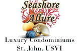 Seashore Allure Condominiums on St. John logo